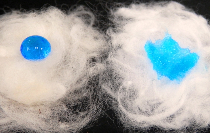 Desizing and bleaching of greige cotton hydrophobic vs. hydrophilic