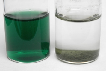 Kelly Green dye wastewater decoloration Catalytic Advanced Oxidation Hydrogen Link catalyst