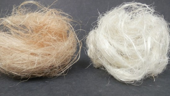 Kenaf fibers degummed by Catalytic Advanced Oxidation