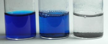 Methylene Blue decoloration with oxycatalyst Hydrogen Link catalyst