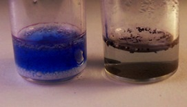 Sodium percarbonate with methylene blue