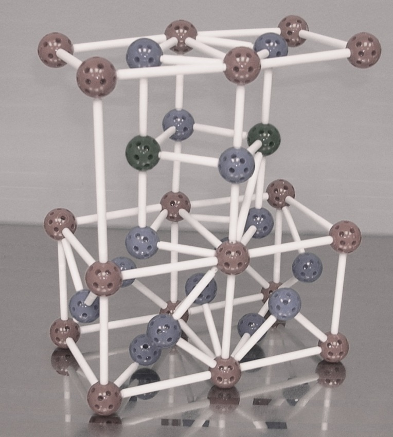 Model of crystallographic structure