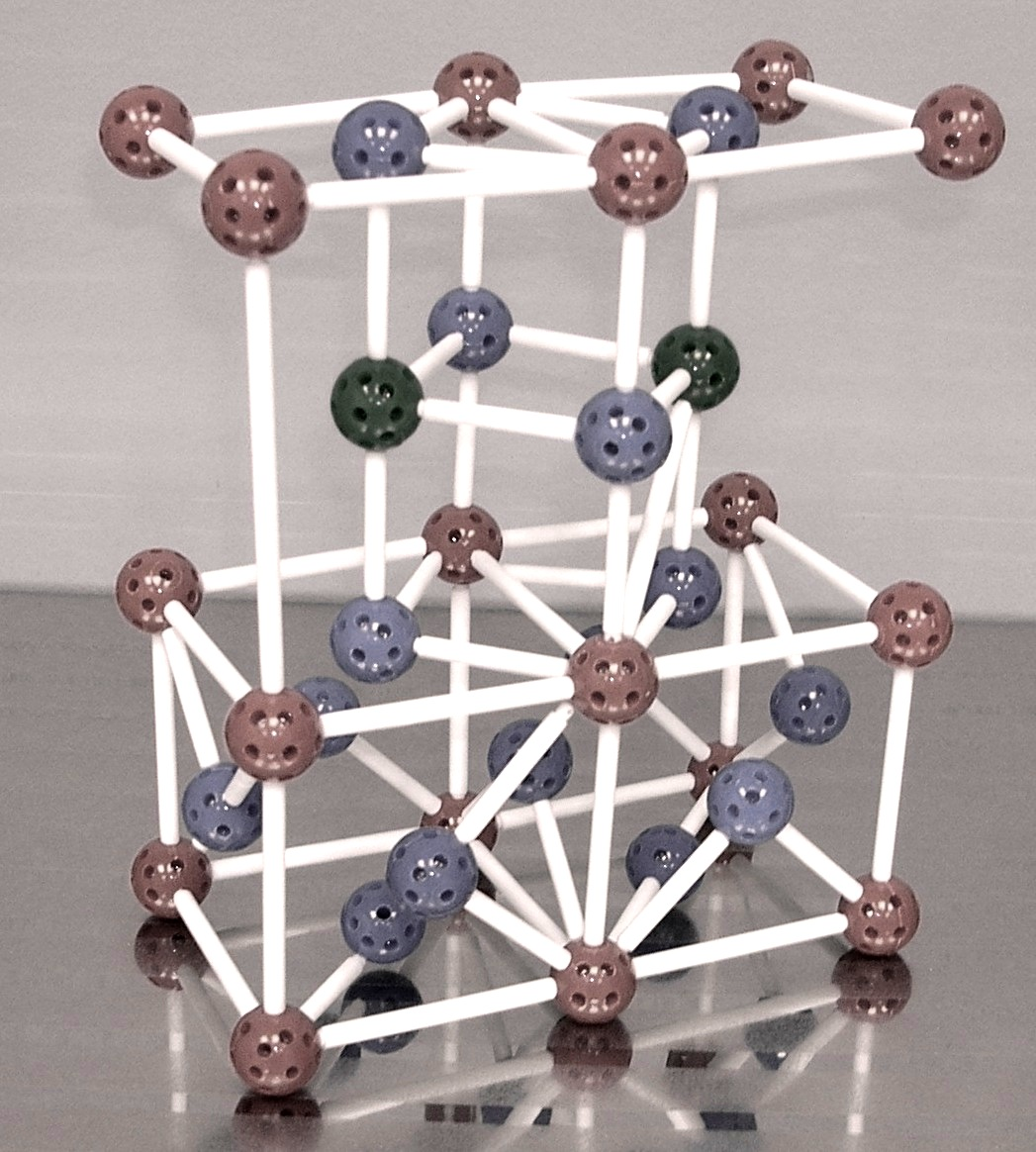 Model of crystallographic sytructure